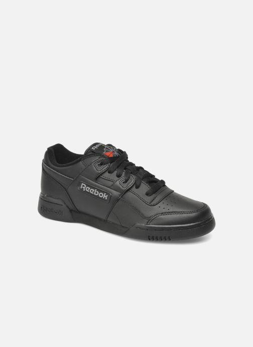 Sneakers Reebok Workout Plus Svart detaljerad bild på paret