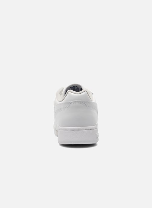 Baskets Reebok Workout Plus Blanc vue droite