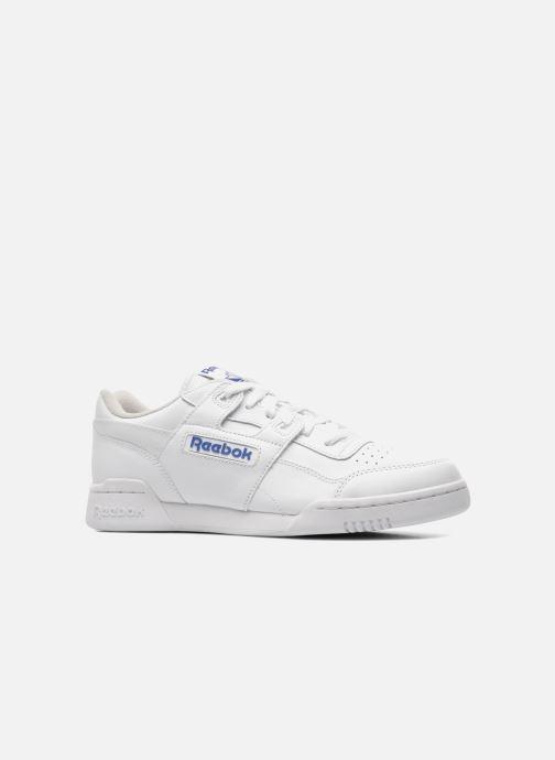 Sneaker Reebok Workout Plus weiß ansicht von hinten