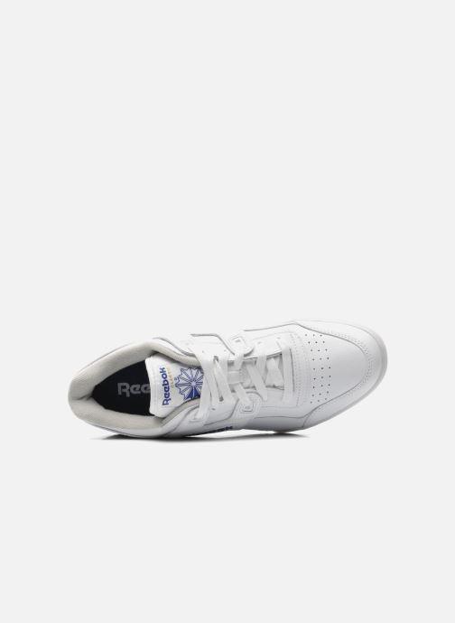 Sneaker Reebok Workout Plus weiß ansicht von links