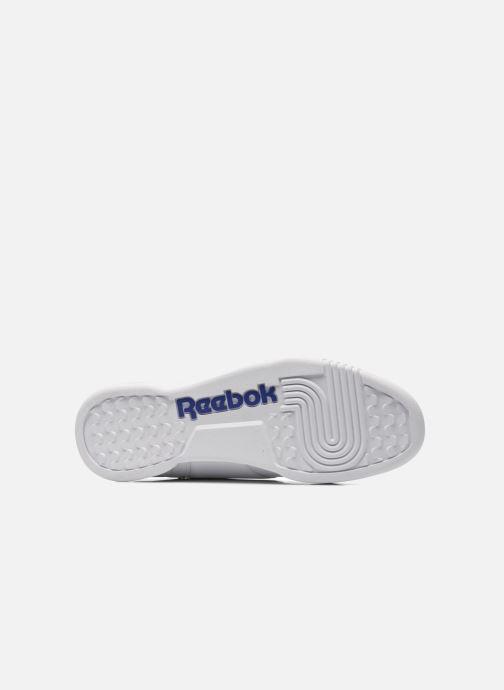Baskets Reebok Workout Plus Blanc vue haut