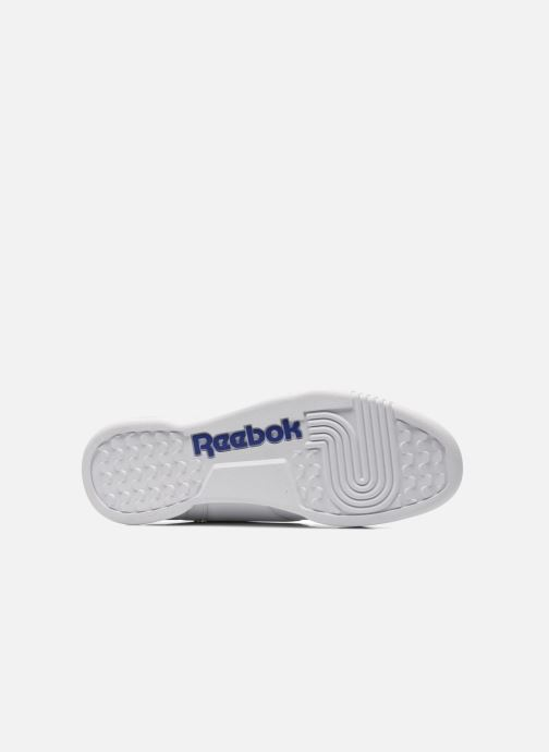 Baskets Reebok Workout Plus Blanc vue haut
