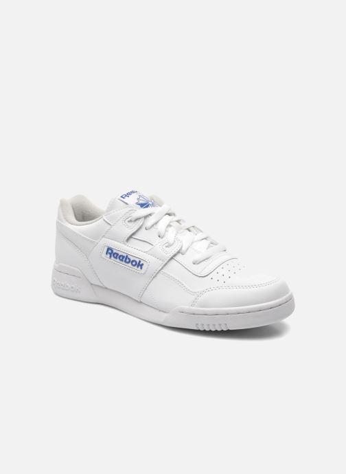 Baskets Reebok Workout Plus Blanc vue détail/paire