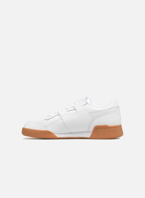 Sneaker Reebok Workout Plus weiß ansicht von vorne