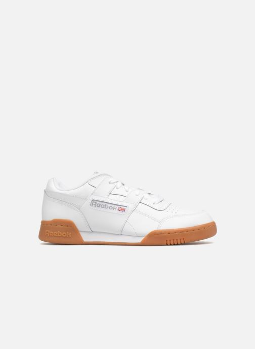 Deportivas Reebok Workout Plus Blanco vistra trasera