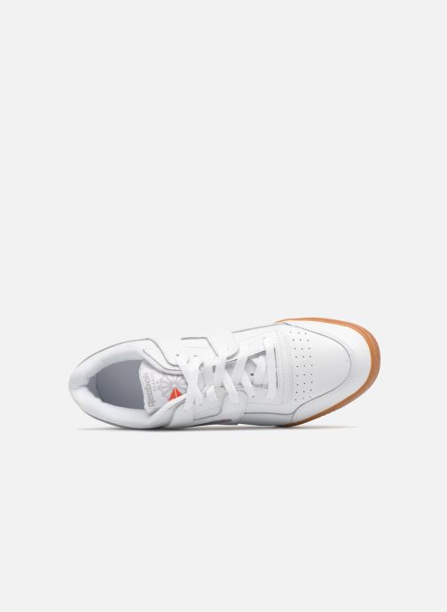 Baskets Reebok Workout Plus Blanc vue gauche