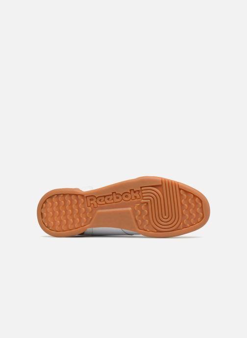 Sneaker Reebok Workout Plus weiß ansicht von oben