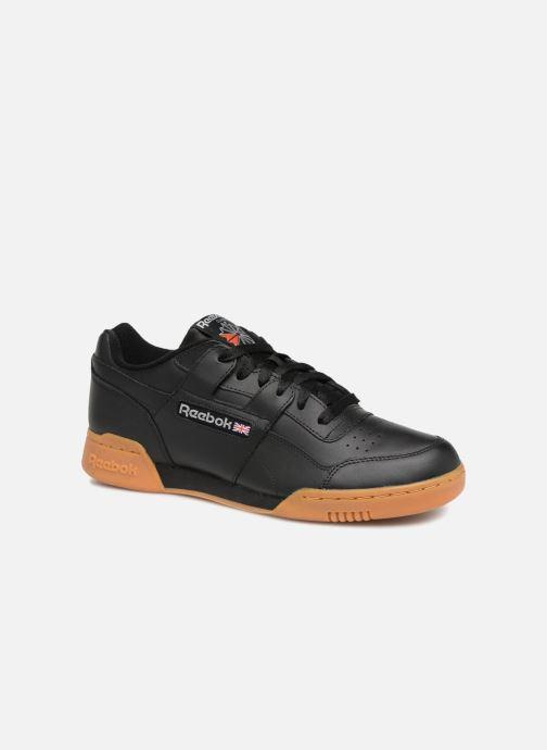 Sneaker Reebok Workout Plus schwarz detaillierte ansicht/modell