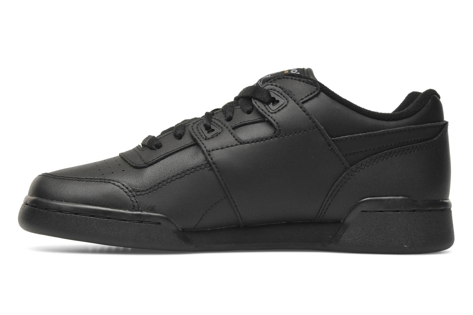 Trainers Reebok Workout Plus Black front view