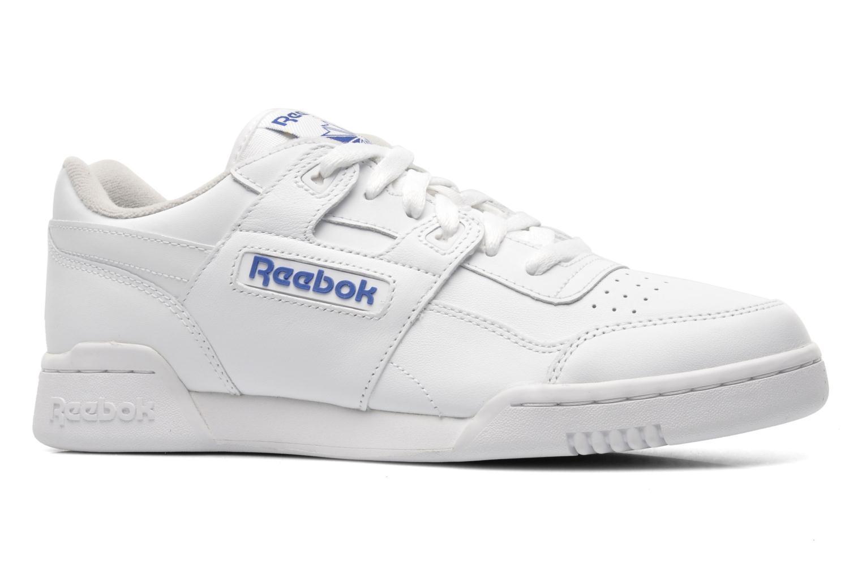 Deportivas Reebok Workout Plus Blanco vistra trasera