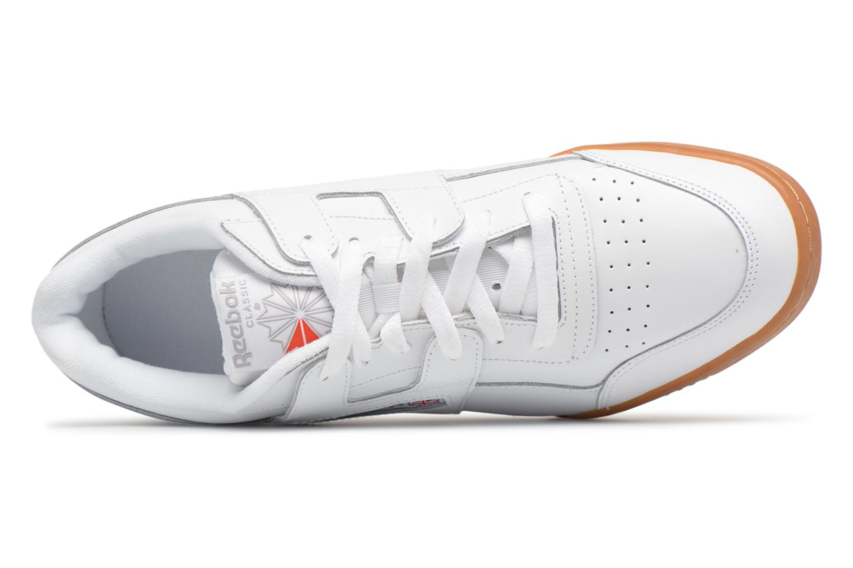 Baskets Reebok Workout Plus Blanc vue gauche