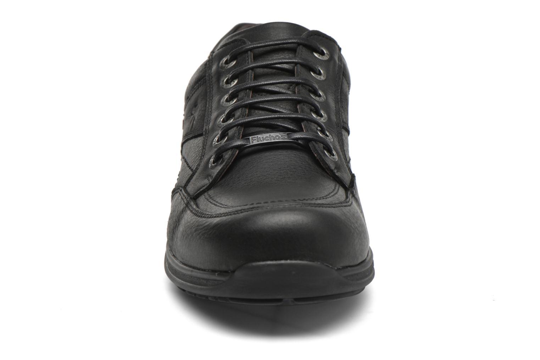 Zapatos con cordones Fluchos Jesus 8403 Negro vista del modelo