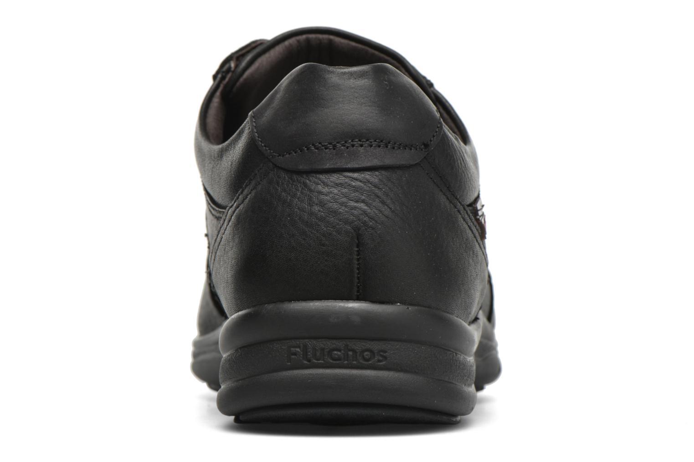 Zapatos con cordones Fluchos Jesus 8403 Negro vista lateral derecha