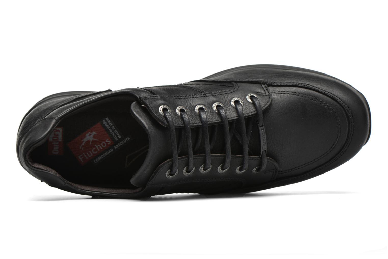Zapatos con cordones Fluchos Jesus 8403 Negro vista lateral izquierda