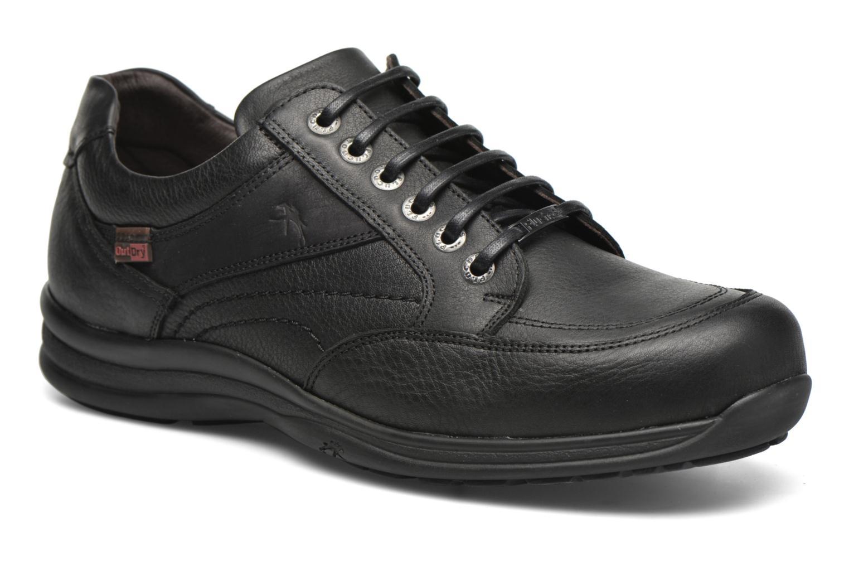 Zapatos con cordones Fluchos Jesus 8403 Negro vista de detalle / par