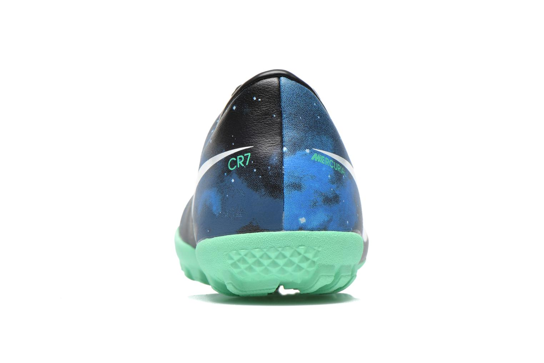 Chaussures de sport Nike Jr Mercurial Victory IV CR TF Bleu vue droite