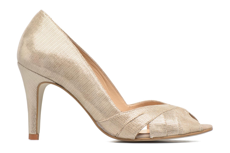 High heels Jonak Acide Bronze and Gold back view