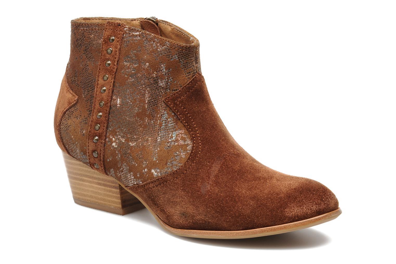 Bottines et boots Schmoove Woman Whisper vegas Marron vue détail/paire