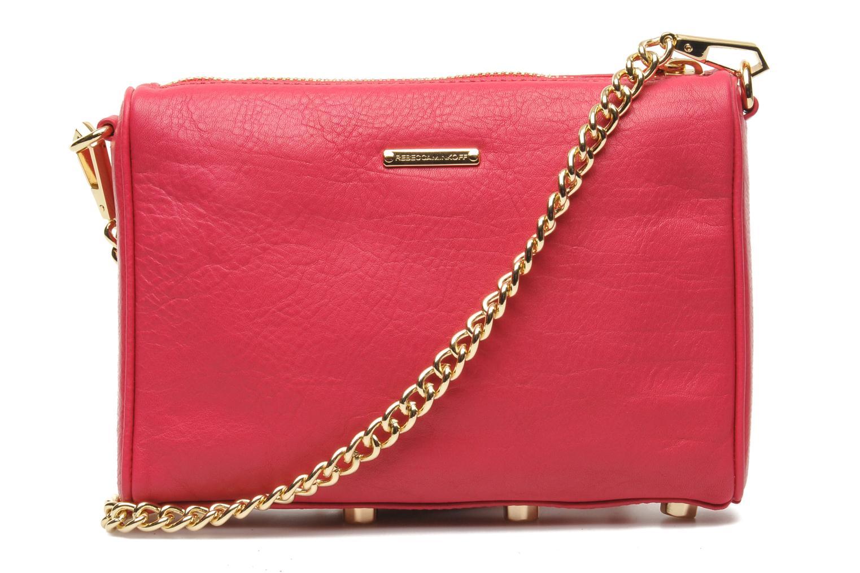 Handtaschen Rebecca Minkoff Mini 5 zip Clutch rosa ansicht von vorne