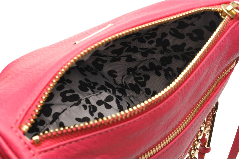 Handtaschen Rebecca Minkoff Mini 5 zip Clutch rosa ansicht von hinten