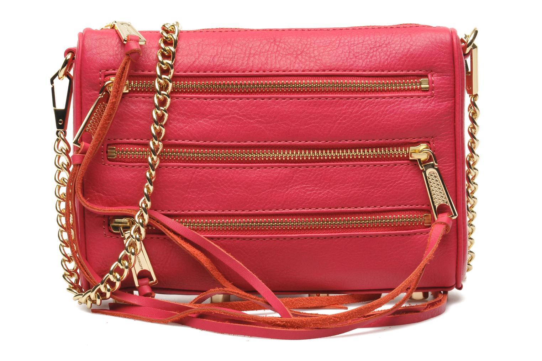 Handtaschen Rebecca Minkoff Mini 5 zip Clutch rosa detaillierte ansicht/modell