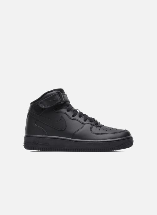 Sneaker Nike Air Force 1 Mid (Gs) schwarz ansicht von hinten