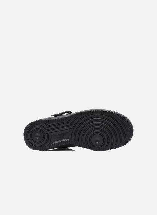 Sneaker Nike Air Force 1 Mid (Gs) schwarz ansicht von oben