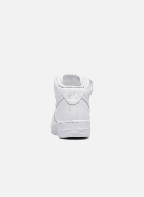 Baskets Nike Air Force 1 Mid (Gs) Blanc vue droite