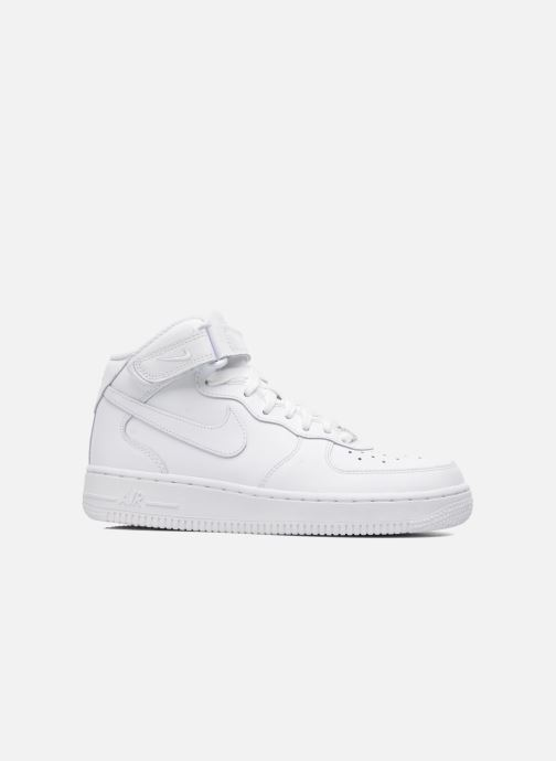 Deportivas Nike Air Force 1 Mid (Gs) Blanco vistra trasera