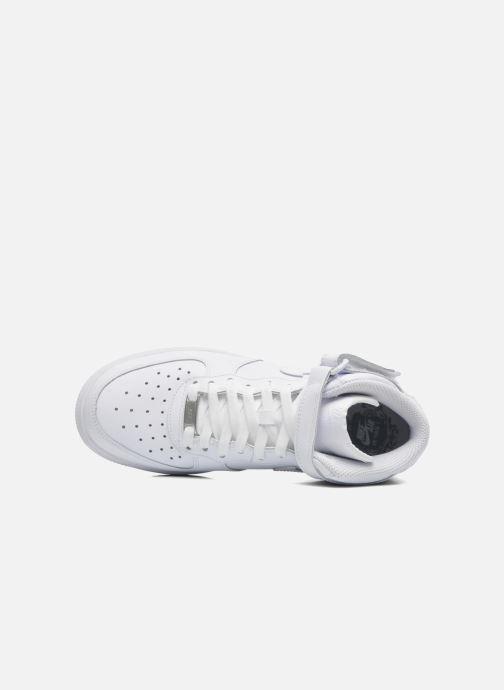 Sneaker Nike Air Force 1 Mid (Gs) weiß ansicht von links