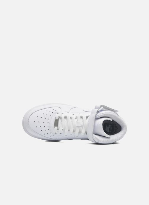 Deportivas Nike Air Force 1 Mid (Gs) Blanco vista lateral izquierda