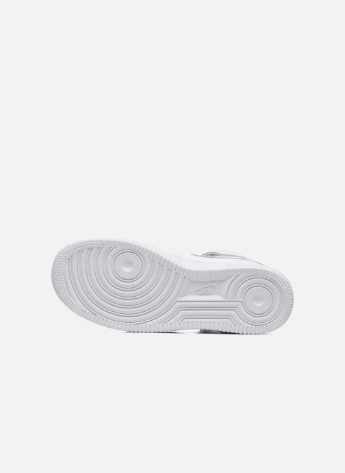 Deportivas Nike Air Force 1 Mid (Gs) Blanco vista de arriba