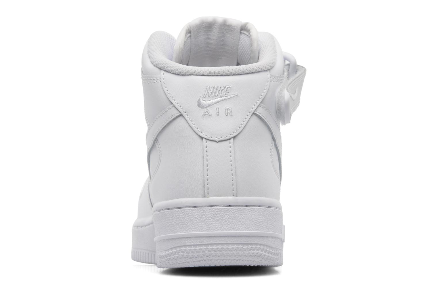Sneakers Nike Air Force 1 Mid (Gs) Wit rechts
