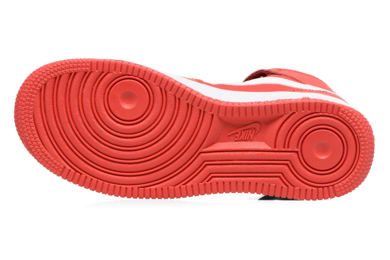 Baskets Nike Air Force 1 Mid (Gs) Rouge vue haut