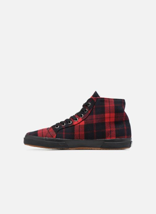 Baskets Superga 2095 TWEEDBINU Rouge vue face