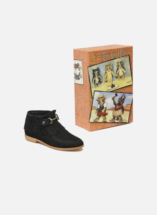 Stiefeletten & Boots F-Troupe Fringy schwarz 3 von 4 ansichten