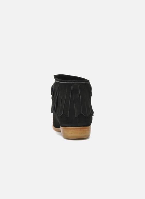 Ankle boots F-Troupe Fringy Black view from the right