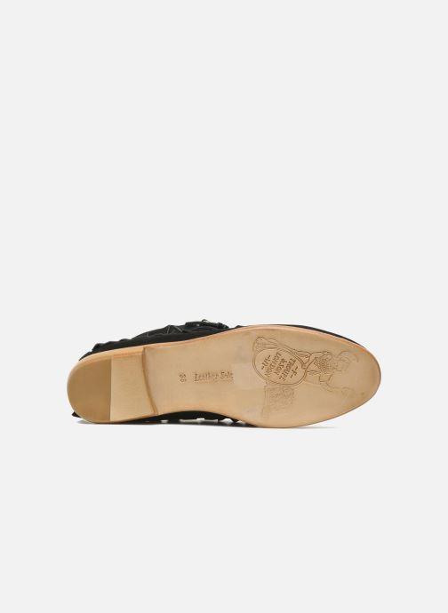 Stiefeletten & Boots F-Troupe Fringy schwarz ansicht von oben