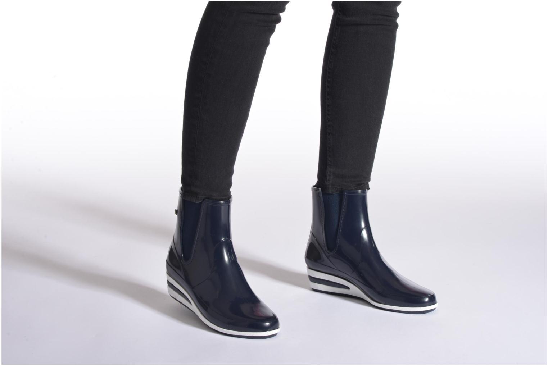 Stiefeletten & Boots Méduse Castic schwarz ansicht von unten / tasche getragen