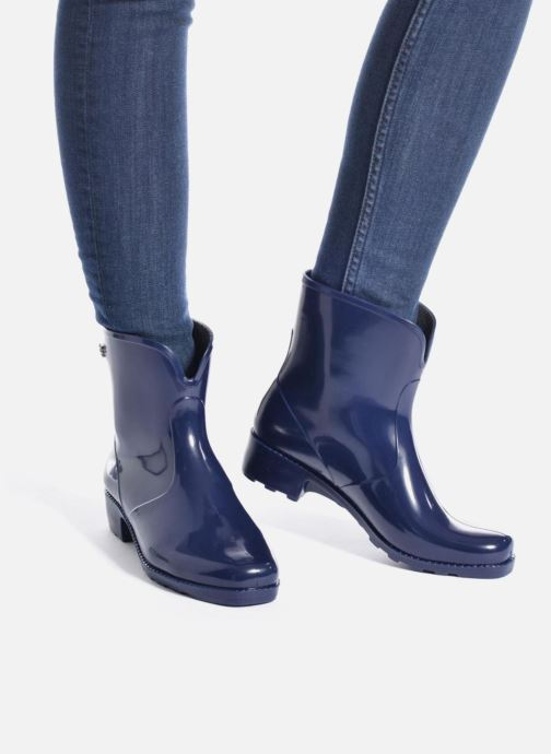 Bottines et boots Méduse Camaro Bleu vue bas / vue portée sac