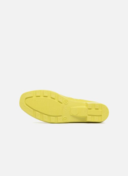 Bottines et boots Méduse Camaro Jaune vue haut