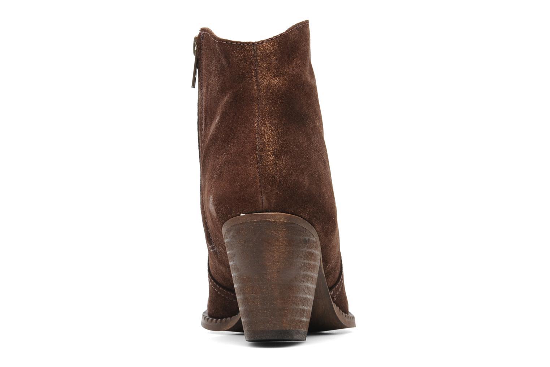 Bottines et boots Eden Celil Marron vue droite