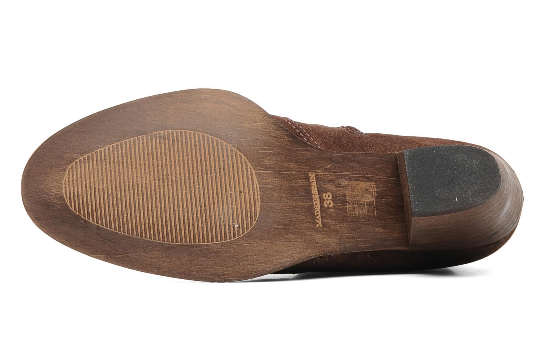 Bottines et boots Eden Celil Marron vue haut