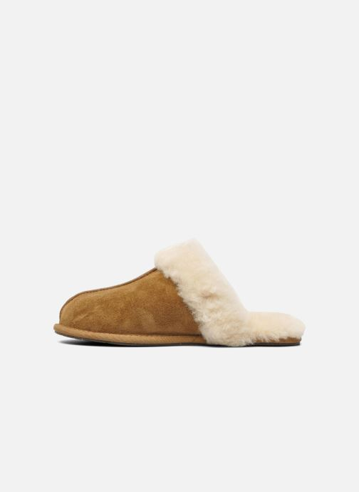 Chaussons UGG Scuffette II Marron vue face