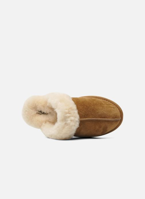 Slippers UGG Scuffette II Brown view from the left