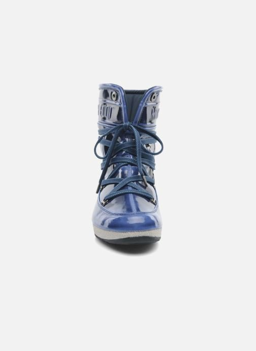 Botines  Moon Boot 3rd Avenue Azul vista del modelo