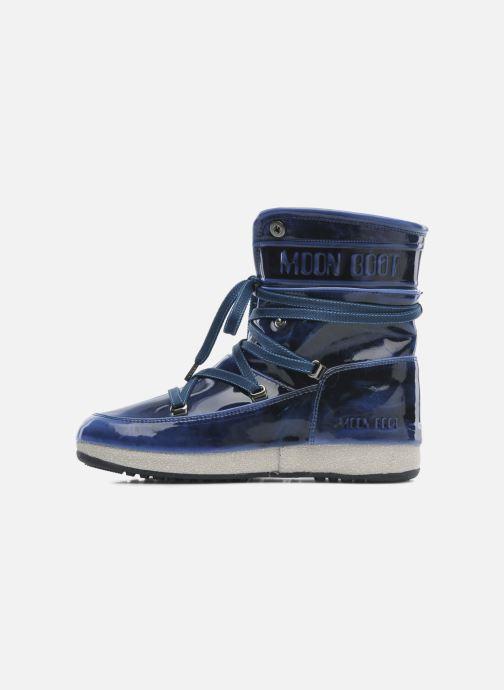 Boots en enkellaarsjes Moon Boot 3rd Avenue Blauw voorkant