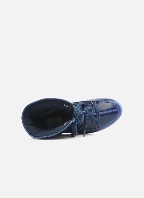 Stivaletti e tronchetti Moon Boot 3rd Avenue Azzurro immagine sinistra