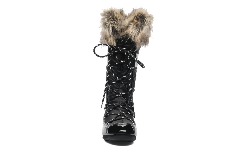 Stiefel Moon Boot Monaco schwarz schuhe getragen