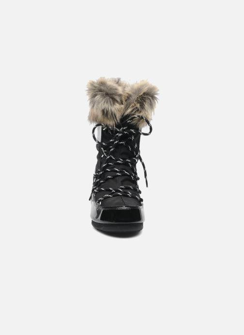 Bottines et boots Moon Boot Monaco Low Noir vue portées chaussures